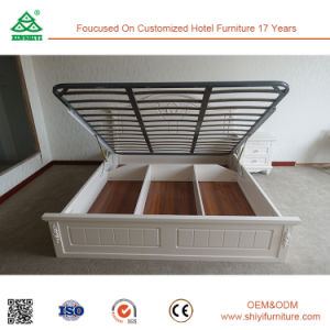 MDF Modern Storage Bed for Home Bedroom pictures & photos