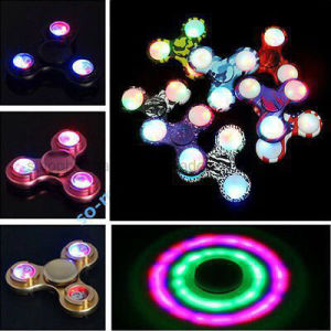 Ready Stock of Besting LED Tri Fidget Hand Spinner pictures & photos