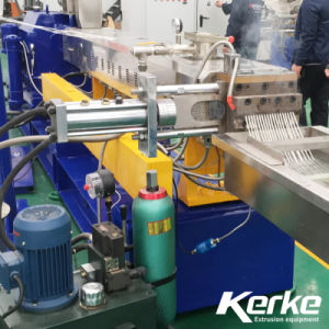 Plastic Twin Screw Extruder Machine for Color Masterbatch Filler Masterbatch etc pictures & photos