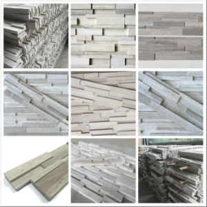 Artificial Timber Marble Cultural Stone for Interior and Exterior Wall Decoration pictures & photos
