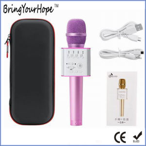 Q7 Karaoke Bluetooth Speaker Handheld KTV Mobile Phone Portable Karaoke (XH-PS-680) pictures & photos