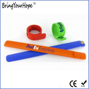 Magnetic Silicone Bracelet USB (XH-USB-031S) pictures & photos