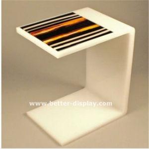 Custom Clear Acrylic Modern Office Desk (BTR-Q2005) pictures & photos