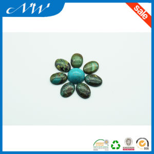 Classical Fashion Original Oval Shape Turquoise Beads