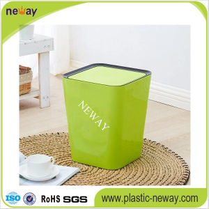 Popular Home PP Garbage Can pictures & photos