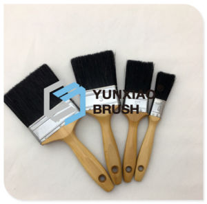Black Bristle Paint Brush with Wood Handle Hardware pictures & photos