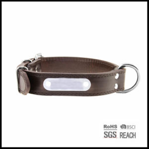Pet Supply Products Strong Durable Leather Pet Collar pictures & photos
