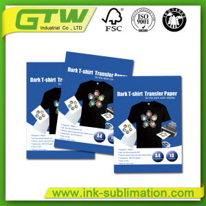 Light T Shirt Heat Transfer Paper Cotton Sublimation Paper pictures & photos