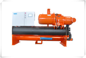 71kw~1242kw Industrial Water Cooled Screw Water Chiller Unit for HVAC pictures & photos