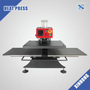Pneumatic Automatic Double Stations Heat Press Machine FJXHB3 pictures & photos