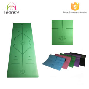 PU Sport Mat Natural Rubber Gym Mat, Excersize Mat with Logo Customized pictures & photos