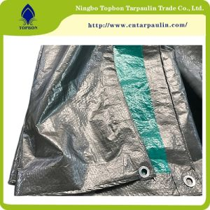 Blue Orange 4X5 Meter Waterproof Plastic PE Tarpaulins Top555 pictures & photos
