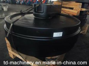 China Supply About Excavator Front Idler OEM Trade Assurance Professional Parts Spare Processing pictures & photos