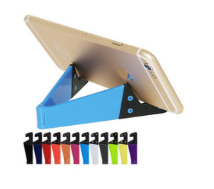 Promotional Gifts Foldable V Shaped Mobile Phone Stand pictures & photos