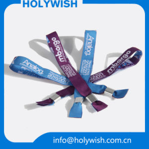 Entertainment Custom Disposable Wristbands with Tyvek Printing Custom Logo pictures & photos