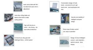 55h-A3 A3 Hot Melt Glue Perfect Binder pictures & photos