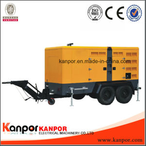 Kanpor Factory 330kVA 150kVA 120kw Easy Moved Trailer Silent Generator pictures & photos