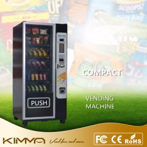 Compact Vending Machine with 6 Trays 36 Selections Operated by Bill and Coins pictures & photos