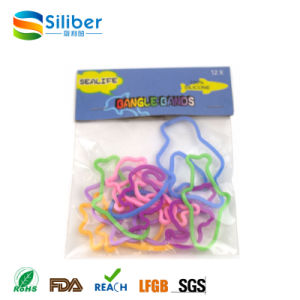 Factory Sales Directly Animal Shape Silicone Rubber Band, Hair Rubber Band pictures & photos