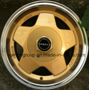 F858 14inch Aluminium Wheels; Aftermarket Car Alloy Wheel Rim pictures & photos