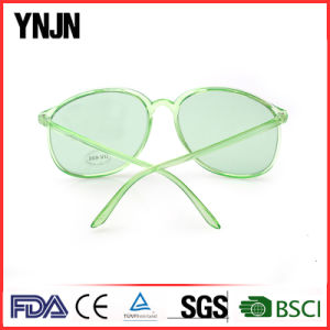 Plastic Oversized Custom Own Brand Transparent Unisex Sunglasses (YJ-2013) pictures & photos