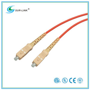 SC/PC-SC/PC mm 62.5/125 Simplex 2m Fo Patch Cord pictures & photos