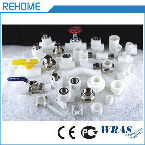 White Plastic Polypropylene PPR Pipes for Cold Water pictures & photos