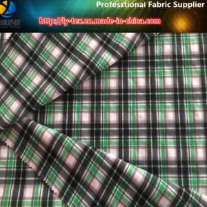 Polyester Yarn Dyed Shirting Fabric with Spandex for Golf Garment (YD1077) pictures & photos