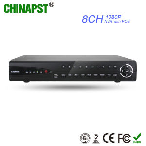 Hottest Smartphone APP View 8CH 1080P NVR with Poe (PST-NVR808P) pictures & photos