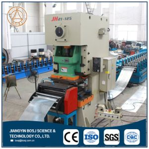 Perforated Steel Strut Channel Solar Panel Frame Roll Forming Machine pictures & photos