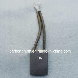 Copper Carbon Brushes J102 High - voltage motors for cement plants pictures & photos