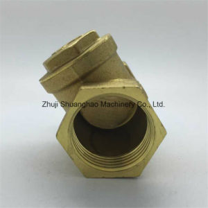 Brass Horizontal Check Valve Non Return Valve pictures & photos