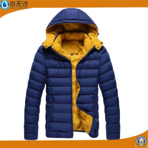 Factory OEM Men Bomber Jacket Outwear Warm Padded Jacket pictures & photos