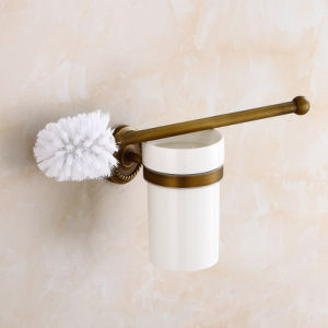 Flg Antique Bathroom Toilet Brush Holder with Solid Brass pictures & photos