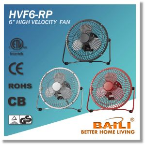 Mini Metal Fan 6 Inch High Velocity Fan pictures & photos