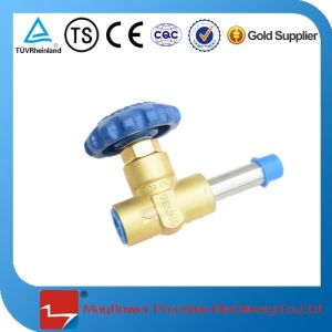 Manual Globe Valve for Welding Insutlating Gas Cylinder pictures & photos