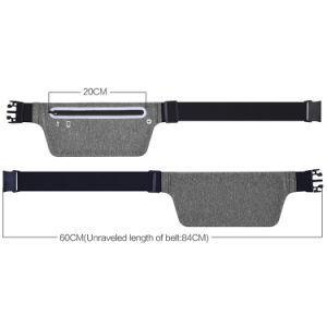 Heather Grey Elastic Waist Pack Running Belt for iPhone 7 pictures & photos
