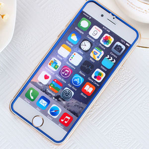 Color Bumper Silk-Screen Printing Tempered Glass Film for iPhone 6/6s/6 Plus pictures & photos