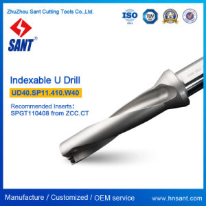 Nickel Coating U Drill Ud40. Sp11 Indexable Drilling Tools with Carbide Insert Spgt110408 Spmg110408 pictures & photos