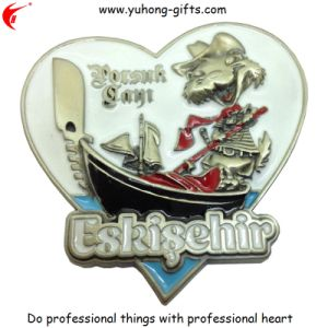 3D New Design Metal Fridge Magnet (YH-FM038) pictures & photos