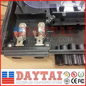 Black No Cut Cable Sangria 16 Cores FTTH Distribution Termination Box pictures & photos
