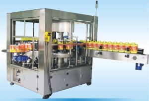 Hot Melt Glue Labeling Machine for Square Bottle pictures & photos