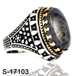 New Model 925 Silver Ring Jewelry with Natural Agate pictures & photos