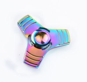 Rainbow Color Hand Spinner Fidget Finger Spinner for Relieving Stress pictures & photos