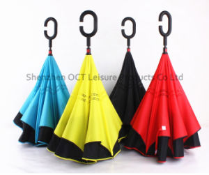 High Quality Reverse Inverted Straight Umbrella (OCT-TXR006) pictures & photos