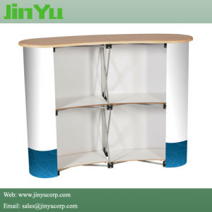 Lightweight Portable Pop up Promotion Counter Display Stand pictures & photos