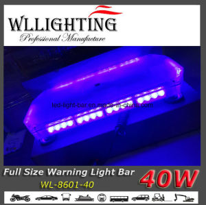 40 LED Police Warning Mini Light Bar pictures & photos