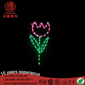 Outdoor LED Decorative Light Flower for Easter pictures & photos