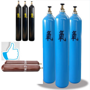 40L High Pressure Seamless Steeloxygen Cylinder China Professional Manufacturer