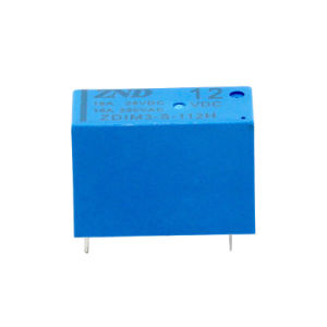 14f Power Relay Small Size 16A 12V 4pin Normally Open Electromagnetic Relay pictures & photos